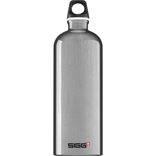 SIGG Alu Traveller 1 Liter, Trinkflasche, aluminium