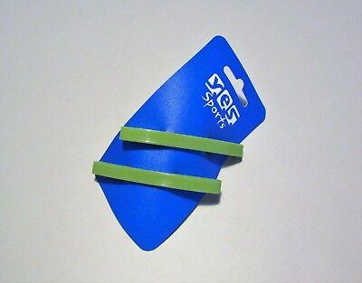 2 x Sport Haarspangen Haarklammer Barrette Haarklemme Haarclip metallfrei blau