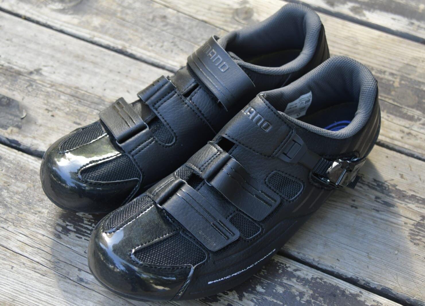 Shimano RP3 Road Fahrrad- Racing Sie Radfahren schuhe Größe 43