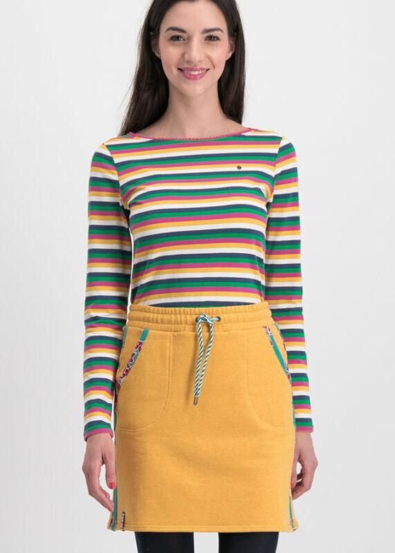 Blutsgeschwister Rock Sporty Sister Skirt Retro Yellow Xl Einen Einzigartigen Nationalen Stil Haben