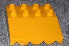 LEGO DUPLO costruzione piastra Tetto Tettoia Tenda da 5635 3596 Bob der Baumeister GIALLO