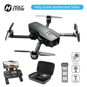 Holy Stone HS720 Foldable Drone with HD Camera 2K Quadcopter Brushless GPS +Case