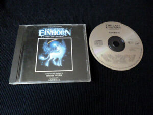 CD Soundtrack OST AMERICA Das Letzte Einhorn The Last Unicorn West-Germany Sono