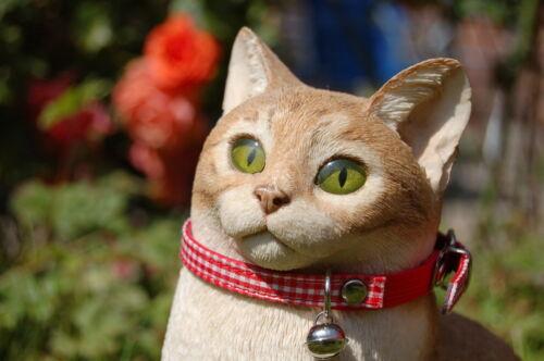 "Mascotas Palacio ® /""clothcat/"" Gato Seguridad Collar Ajustable Patrón Guinga Mantel"