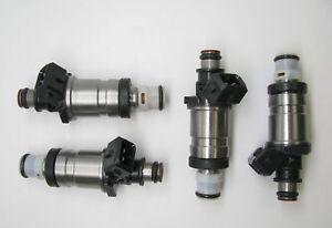 Set Of 4 OEM Fuel Injectors for 1994 To 1997 Honda Accord 2.0L 2.2L