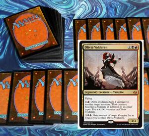mtg-RED-BLACK-RAKDOS-COMMANDER-EDH-DECK-Magic-the-Gathering-olivia-voldaren-rare