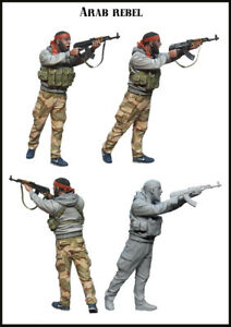 1-35-Scale-Resin-Figure-Model-Kit-Arab-Rebel-EM-35147