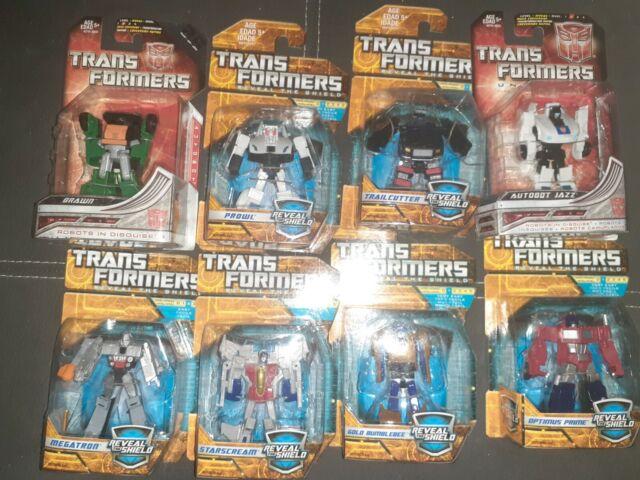Transformers legends class lot Optimus Prime Megatron Bumblebee Prowl Starscream