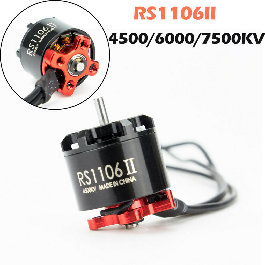EMAX RS1106II 2-3S 2-3S 2-3S 4500 6000 7500KV Brushless Motor for Mini RC Drone FPV Racing 7d429f