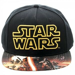 reputable site bc471 94cc7 ... release date image is loading star wars the force awakens symbol black  snapback a9f2b 75b86 ...