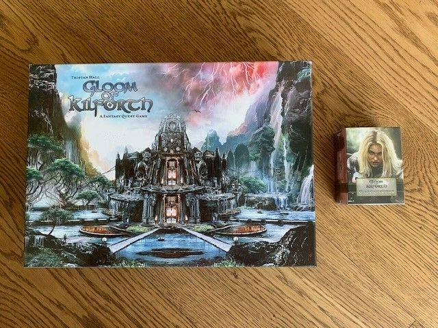 Gloom of Kilforth  A Fantasy Quest Game - Boardgame + Expansion