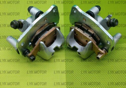 New Front Brake Caliper Set For Suzuki King Quad 400 LTA 400F With Pads 08-15