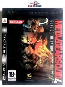 Metal-Gear-Solid-4-Guns-Patriots-PS3-PLAYSTATION-Neuf-Scelle-Scelle-Nouveau