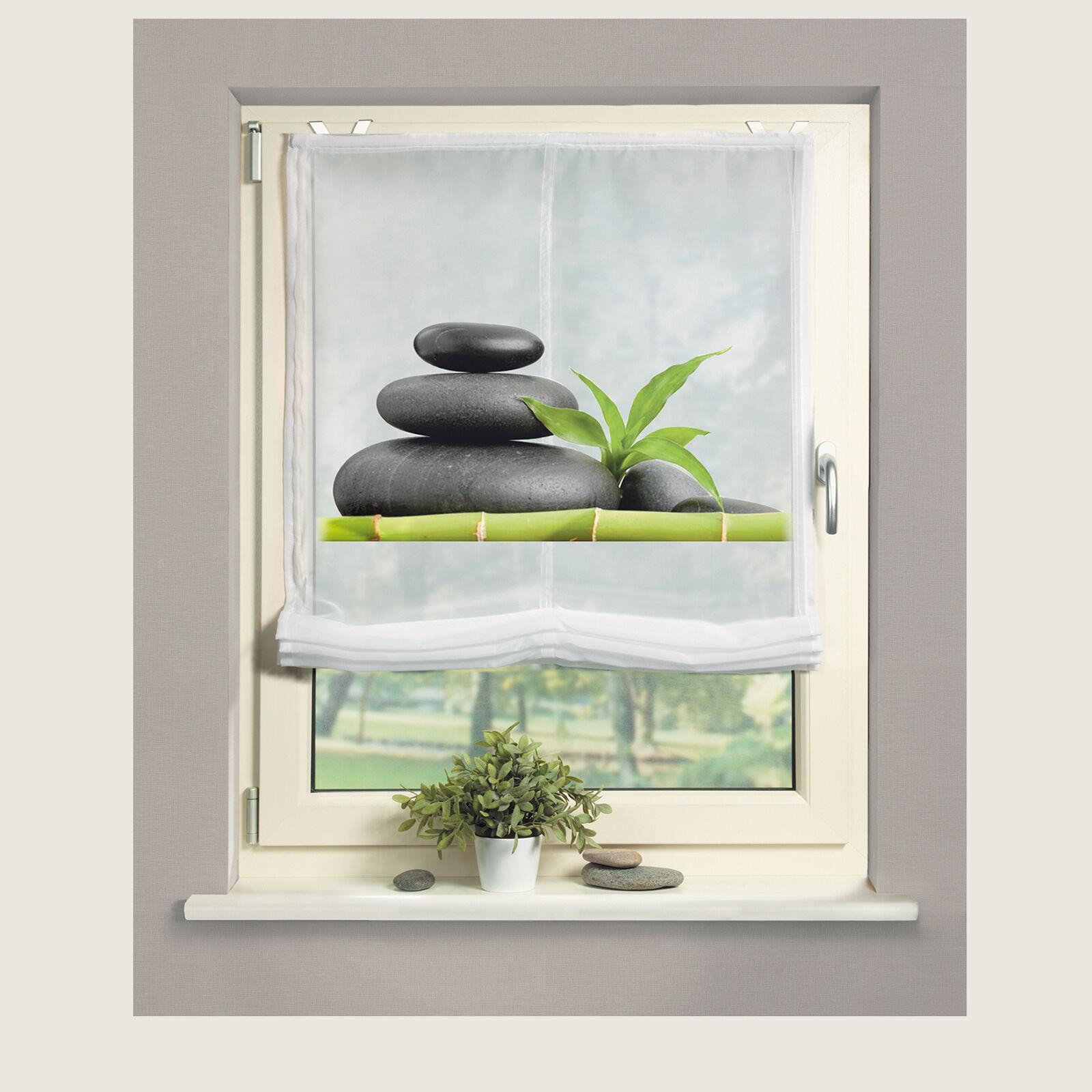 bamboo orchid orchidee bambus digital schiebevorhang raumteiler wellmira ebay. Black Bedroom Furniture Sets. Home Design Ideas