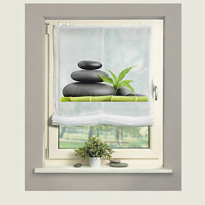 Carozo-Bambus-Steine-Raffrollo-Raffgardine-EasyFix-Home-Wohnideen-Schmidtgard