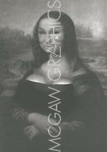 fantasy art print restoration mona lisa with bad plastic surgery