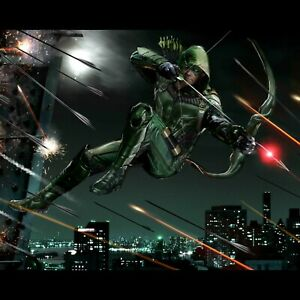 "20/"" 24/"" sizes Green Arrow poster wall art home decor photo print 16/"""