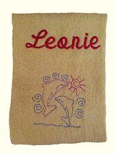 Handtuch bestickt mit Namen und Motiv Kinderhandtuch
