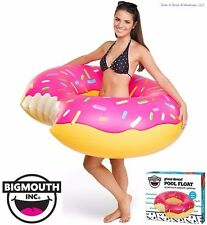Big Mouth Inc - Gigantic 4' Ft Strawberry Inflatable Donut Pool Float Tube
