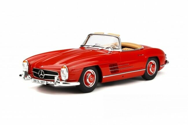 GT Spirit Mercedes-Benz 300 SL Roadster 1957 1 12 red