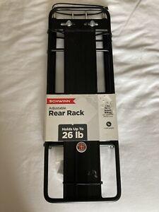 Schwinn Bike Rear Rack Bicycle Accessories Folding Rear Rack