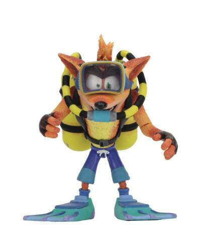 Crash Bandicoot Scuba Crash Deluxe Action Figure JUN1905
