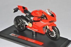 Ducati-Maisto-Modello-Motocicletta-1-18-Nuovo-Raro-1-18