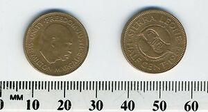 Details about Sierra Leone 1964 - 1/2 Cent Bronze Coin - Sir Milton Margai,  Value divides fish