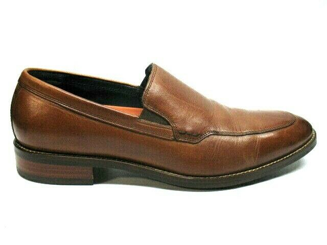Cole Haan Grand OS Brown Leather Loafer Dress Shoes Mens 8.5 M EUC