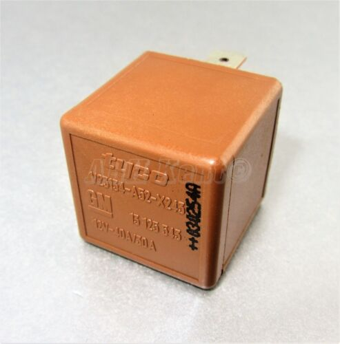 637-Vauxhall Opel Vectra-C Signum 02-09 5-Pin Brown Relay GM 13125543 12V 40//50A