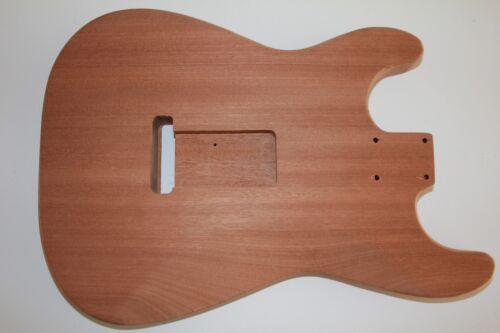 Stratocaster Strat Body Korpus Sapeli Mahagoni made in Germany TMG Gitarrenbau