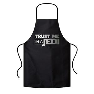Trust-me-I-039-m-a-Jedi-Star-Wars-Satire-Comedy-Spass-Fun-Grillschuerze-Latzschuerze