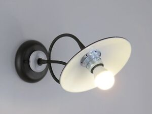 Lampada parete applique classico rustico country flessibile led ebay