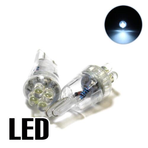 2x Toyota Corolla E12J//E12U 1.8 Xenon White LED Licence Number Plate Light Bulbs