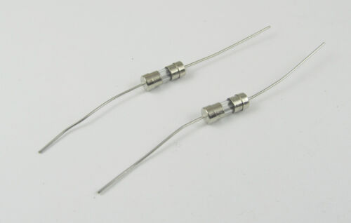 100x Glass Tube Fuse Axial Leads 3.6x10mm 3.15A 3.15Amps F3.15A Fast Quick Blow