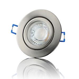 LED Einbaustrahler Badezimmer Flach Dimmbar Spot Deckenstrahler 5W ...