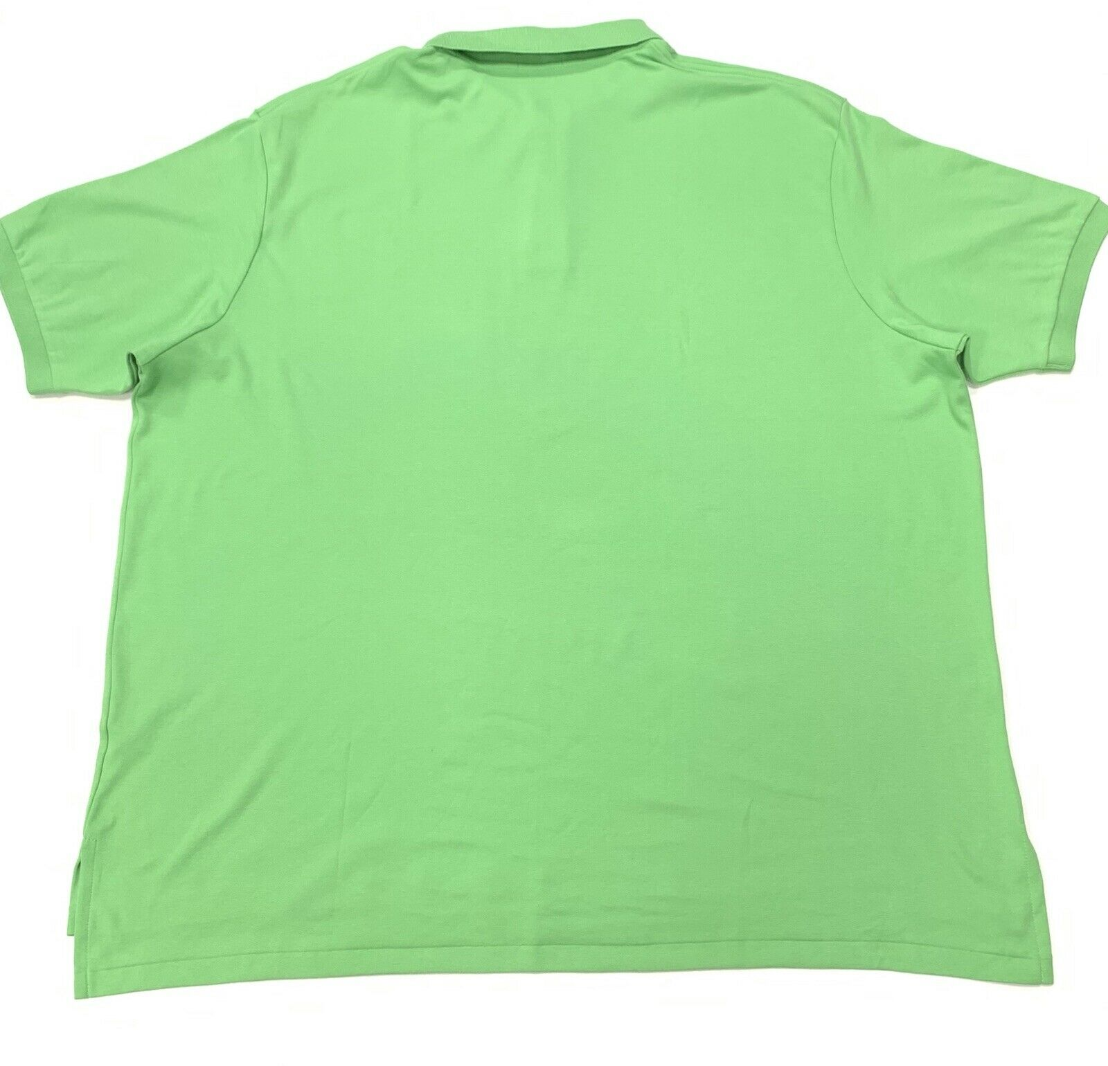 POLO RALPH LAUREN LAUREN LAUREN uomo CLASSIC FIT COTONE PIMA T-Shirt in verde Taglia 4XB-BIG 24f5f0