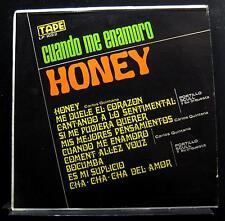 Carlos Quintana, Portillo Scull - Cuando Me Enamoro Y Honey LP VG+ LP-1022