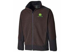 Genuine-John-Deere-Brown-Barton-Jacket-Farm-Workshop-Pullover-Fleece
