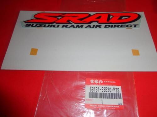 NOS OEM FACTORY SUZUKI GSX-R750 EMBLEM DECAL 68131-33E30-F3S