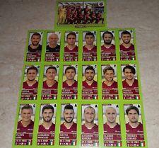 FIGURINE CALCIATORI PANINI 2014-15 SQUADRA CITTADELLA CALCIO FOOTBALL ALBUM
