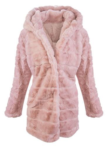 fleece Damen Designer Winter 406 D Teddy Jacke Wintermantel Fleecemantel ZIwqdxBw