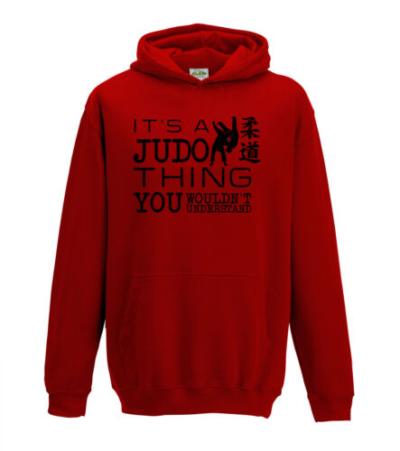 It/'s A Judo Thing You Wouldn/'t Understand Martial Arts 1320 Hoodie