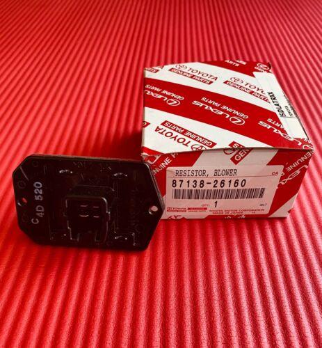 New Genuine for Scion tC xB Toyota Corolla RAV4 Blower Motor Resistor 8713826160