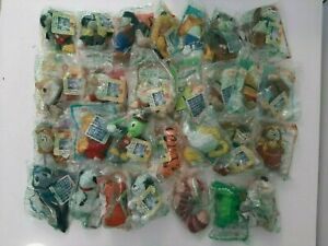 2000-McDonald-039-s-Happy-Meal-Toys-Complete-Set-of-28-Walt-Disney-Plush-Dolls