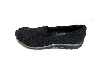 STITCH UP Black NEW SKECHERS Women Sneakers Slipper Memory Foam REGGAE FEST