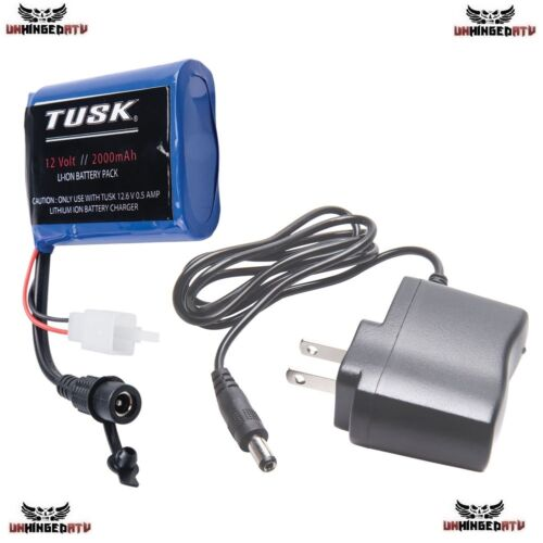 Tusk Enduro Lighting Kit Replacement Lithium Battery Pack /& Charger Honda KTM