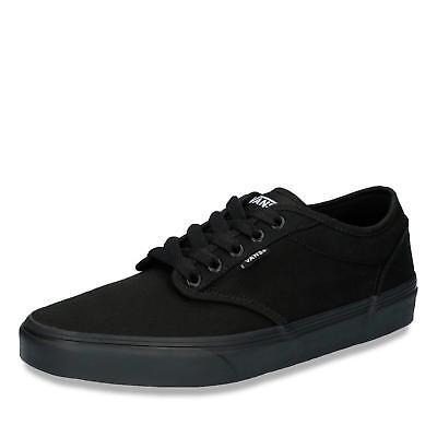 Vans MN Atwood Herren Sneaker Skaterschuhe Sneaker low Schuhe Textil schwarz | eBay