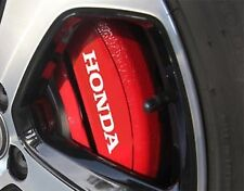 Straight HONDA caliper Decals Stickers Civic - Accord - Prelude - Si - HI TEMP.