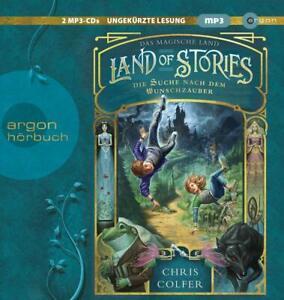 RUFUS-BECK-LAND-OF-STORIES-DAS-MAGISCHE-LAND-2-MP3-CD-NEW